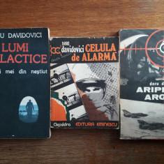 Lot 3 carti despre aviatie  de Doru Davidovici /  R4P2S