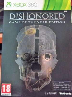 Dishonored Game of the Year Edition, Xbox 360, original, alte sute de titluri foto