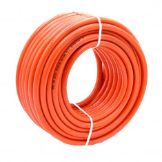 Furtun gaz Plahosan, lungime 25 m, PVC, Portocaliu
