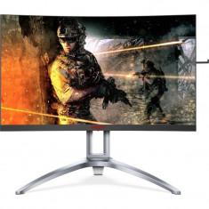 Monitor LED AOC Gaming AG273QCX 27 inch Curbat 2K 1 ms Black-Grey FreeSync 144Hz