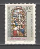 Argentina.1977 Nasterea Domnului-Vitraliu  CA.17, Nestampilat
