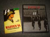 Waffen SS Lot 2 buc. Album si carte istoria militara germana a Waffen SS/nazi