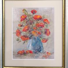 Tabou 'Maci rosii in vaza'