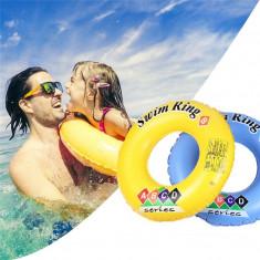 Colac gonflabil inot, diametru 90 cm, interior 33 cm, pentru adolescenti si adulti