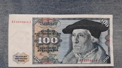 100 Mark 1980 Germania RFG, marci germane (3) foto