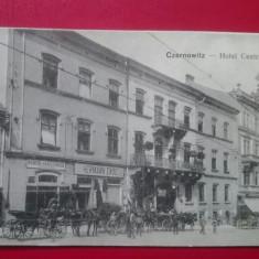 Romania Cernauti Hotel Central, Circulata, Printata
