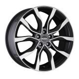 Jante VOLVO V60 Cross Country 6.5J x 16 Inch 5X108 et45 - Mak Highlands W Gun Met-mirror Face - pret / buc