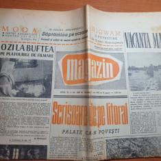 magazin 7 iulie 1962-o zi la buftea pe platorile de filmare,litoral,mamaia