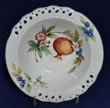 Centru de masă Fructieră portelan Tiffany Italia