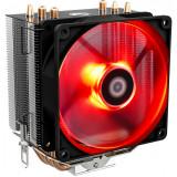 Cumpara ieftin Cooler CPU ID-Cooling SE-903 V2 Red, Ventilator 92mm, Heatpipe-uri Cupru