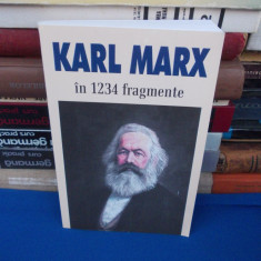 KARL MARX IN 1234 FRAGMENTE , ALESE SI ADNOTATE DE ION IANOSI , 2004