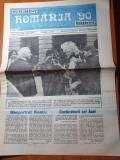 ziarul romania '90 - 17 mai 1990-ion ratiu ,ion iliescu