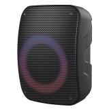 Boxa portabila Platinet, 20 W, 6.5 inch, Bluetooth 5.0, 2400 mAh, iluminare LED, Negru