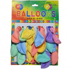 Baloane culori pale, 24 buc/blister