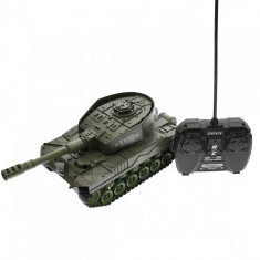 Tanc de jucarie cu telecomanda, pentru copii, control de la distanta - 5896M2