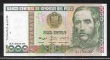Peru  1000  Intis  1988 -UNC