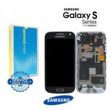 Display Cu Touchscreen Si Rama Samsung I9195 Galaxy S4 Mini Original Negru