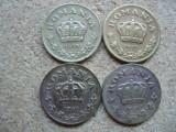 ROMANIA - SET 1LEU 1938+1 LEU 1939 + 1 LEU 1940 + 1 LEU 1941 . L 7.2