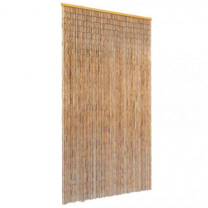 Perdea de Usa din Bambus pentru Insecte, Muste, Dimensiuni 100x220 cm