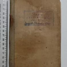BROSURA LEGEA JANDARMERIEI 1921