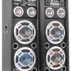 Set boxe karaoke 2x 8″ USB/RGB KA-28