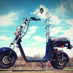Scuter Electric, Moped Electric, Harley Electric, City Coco 2019 OMOLOGAT RAR