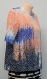 Cumpara ieftin Bluza multicolora MSGM, M/L, Maneca scurta, Casual