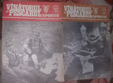 Lot 8 REVISTE/Revista Vanatorul si pescarul SPORTIV 1989,stare Foto,T.GRATUIT