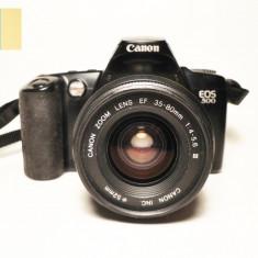 Canon EOS 500 cu obiectiv Canon EF 35-80mm f/4-5.6