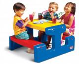 Masuta pentru picnic - Albastra