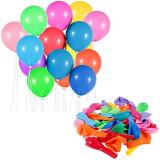 Baloane latex multicolore, forme si dimensiuni diferite, set 100 bucati