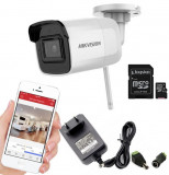 Camera supraveghere IP WIFI HIKVISION, 2Mp cu card SD