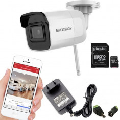 Camera supraveghere IP WIFI HIKVISION, 2Mp cu card SD