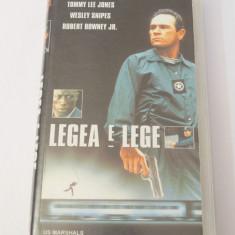Caseta video VHS originala film tradus Ro - Legea e Lege