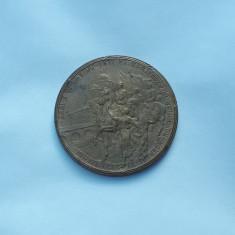 Medalie 1922 Regele Ferdinand I si Regina Maria - Alba Iulia