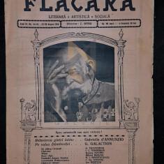 BANU C. (Director), FLACARA (Literara, Artistica si Sociala), Anul III, Numerele 44-45, 1914, Bucuresti
