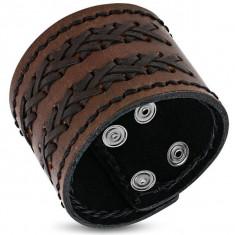 Bratara lata din piele B3027