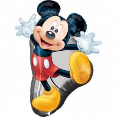 Balon folie metalizata SuperShape Mickey Mouse 78x55cm