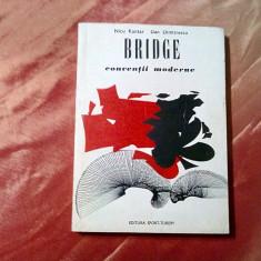 BRIDGE * Conventii Moderne - Nicu Kantar, Dan Demetrescu -  1976, 328 p.
