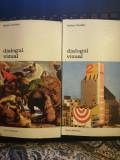 Dialogul vizual, vol. 1 si 2,  Nathan Knobler, 1983, Biblioteca de arta