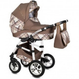 Carucior 3in1 Vessanti -Flamingo Easy Drive Brown