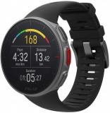 Ceas smartwatch Polar Vantage V, GPS, Black, Otel inoxidabil