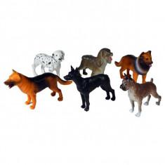 Jucarie Set 6 caini de rasa animale domestice