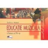 Educatie muzicala - Caietul elevului pentru clasa a-IV-a (Sofica Matei), Clasa 4, Auxiliare scolare