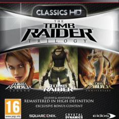 The Tomb Raider Trilogy PS3