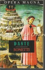 Sonetti. Sonete - Dante Alighieri - Editie: Bilingva foto