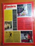 flacara 6 decembrie 1975-art. si foto orasul bistrita,tismana,steaua rosie sibiu