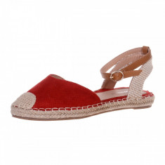 Espadrile Rougue, 36, 38, 40, Rosu
