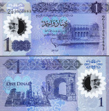 Libia 2019 - 1 dinar UNC