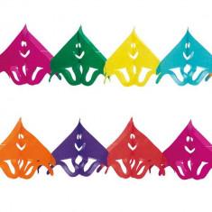 Ghirlanda decorativa cu comete pentru petrecere multicolora - ca. 3 m, Radar 61025, 1 bucata